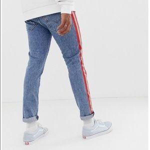 Levi's 512 slim taper jeans  42X30